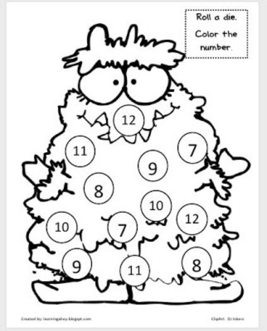 Cool Math Coloring Pages