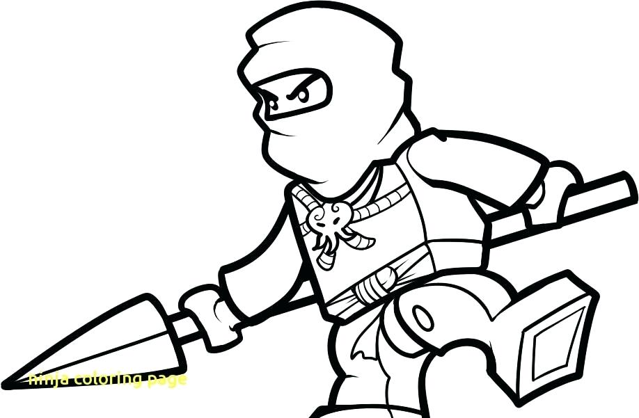 918x601 Ninja Coloring Page With Green Ninja Coloring Pages Ninja Coloring