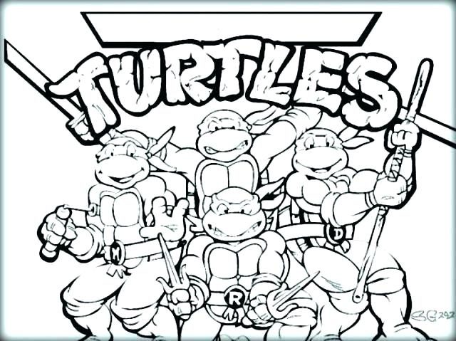 640x479 Ninja Turtle Coloring Pages Ninja Turtle Coloring Pages Ninja