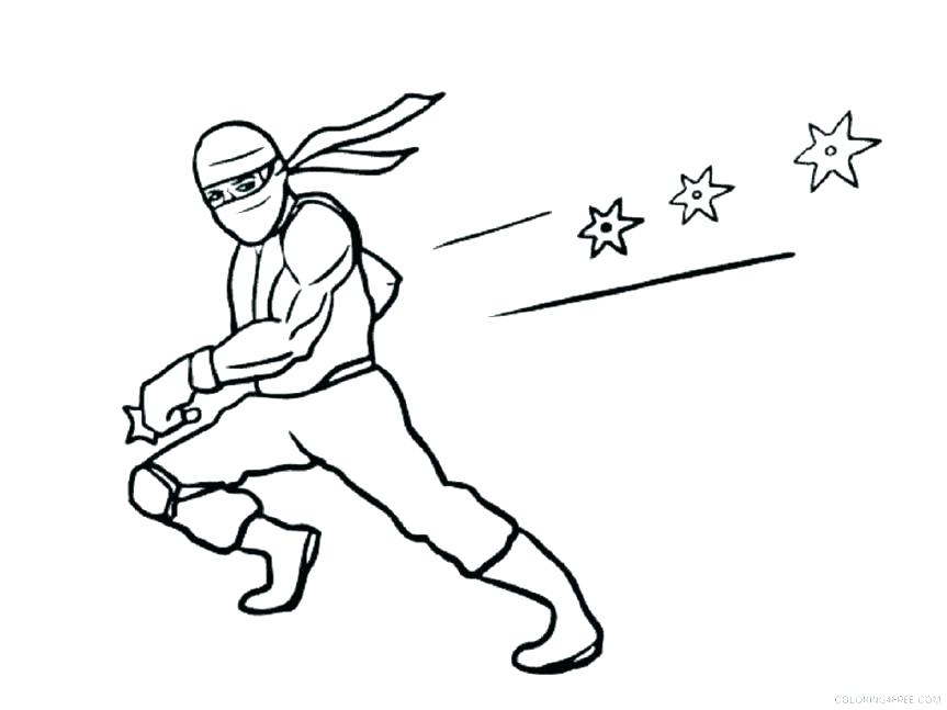 863x647 Golden Ninja Color Pages Ninja Power Rangers Coloring Pages Ninja