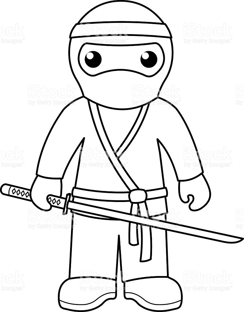 Cool Ninja Coloring Pages at GetDrawings.com | Free for personal use ...