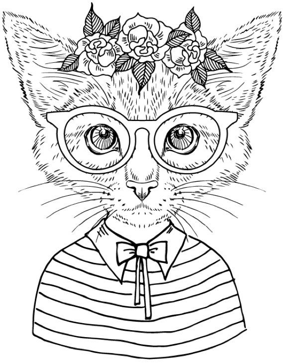 Cool Printable Coloring Pages For Adults at GetDrawings ...
