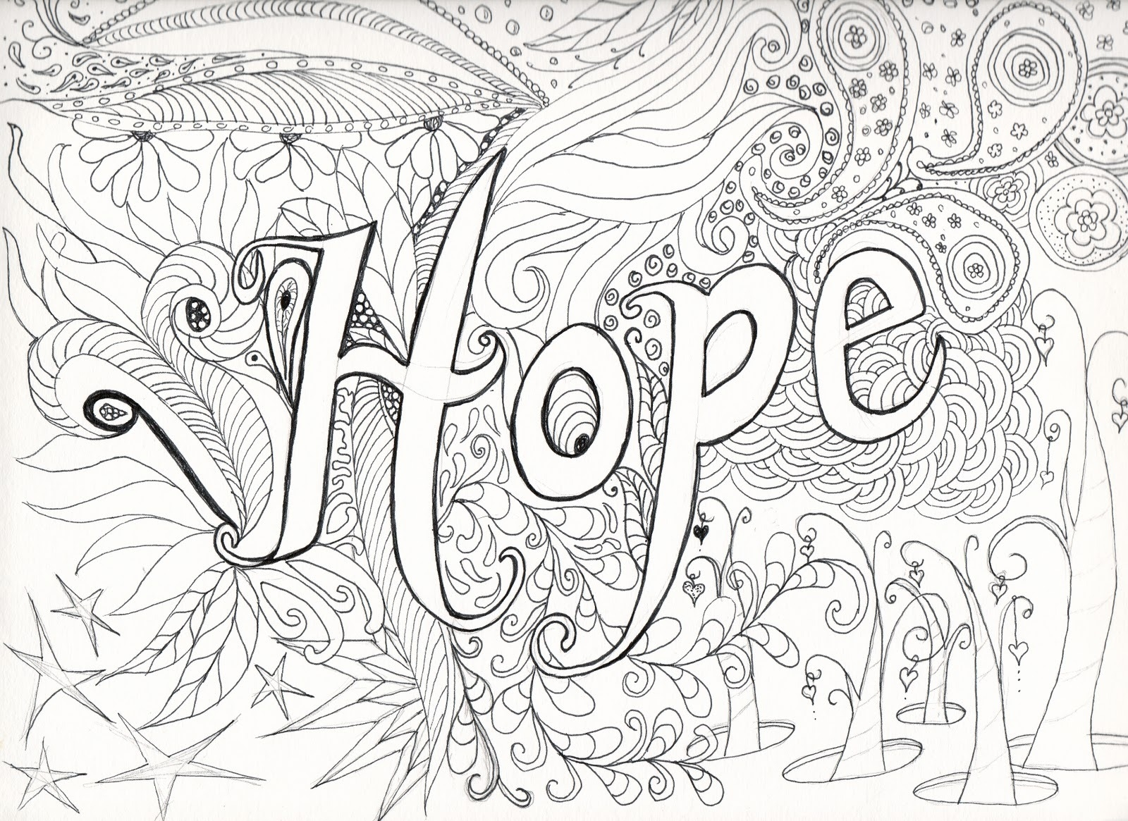 1600x1165 Free Printable Coloring Pages For Older Kids P Unknown Within