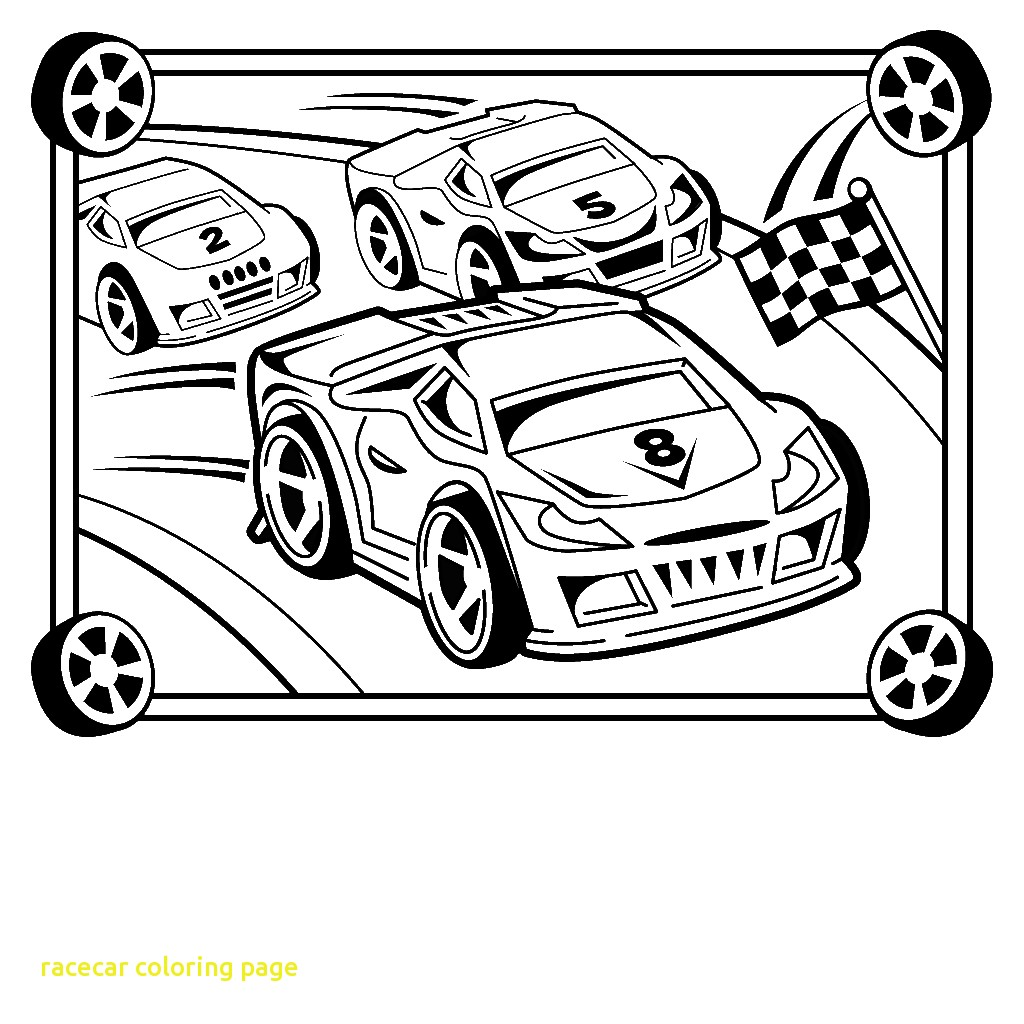 1024x1024 Mainstream Race Car Coloring Sheet Page Raceca