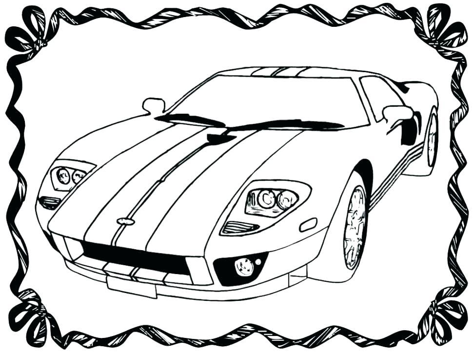 970x728 Printable Coloring Pages Classic Cars Classic Race Car Coloring