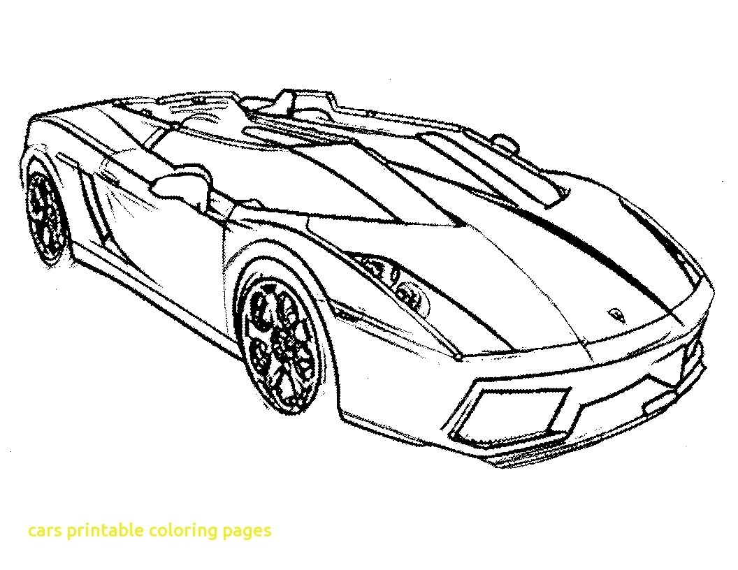 1056x816 Awesome Cars Printable Coloring Pages With Free Printable Race Car