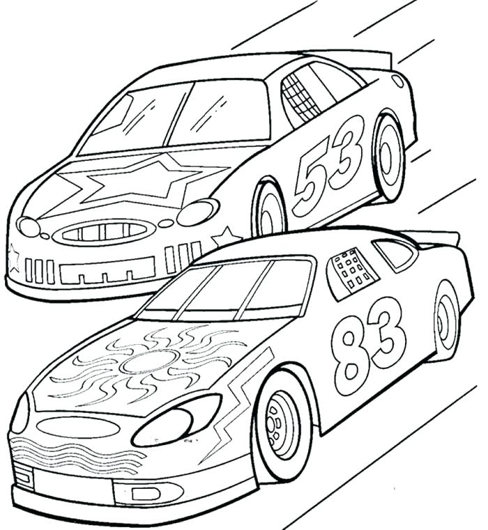 700x761 Racecar Coloring Pages Coloring Pages Best Race Car Coloring Pages