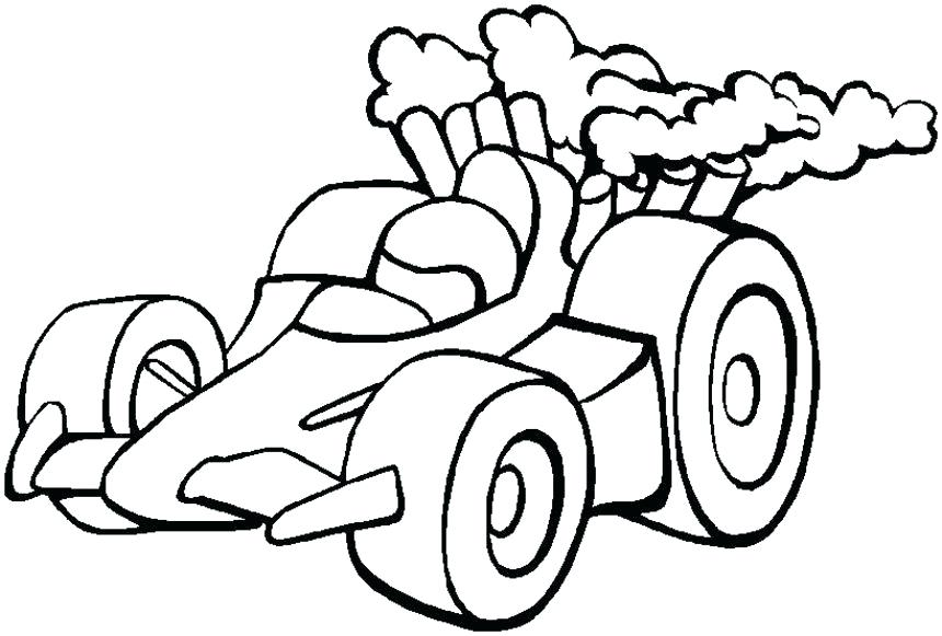 860x581 Racecar Coloring Pages Simple Race Car Coloring Pages Free Online