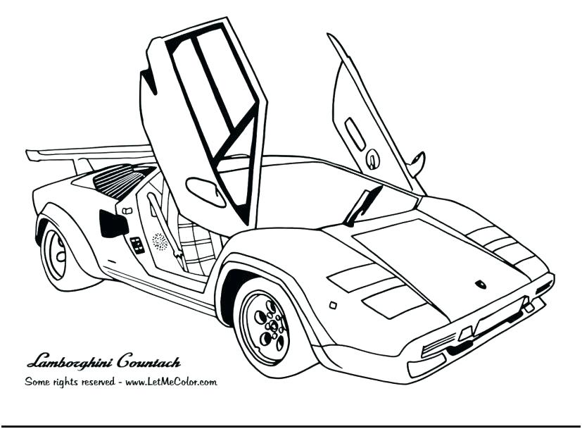 827x609 Racing Cars Coloring Pages