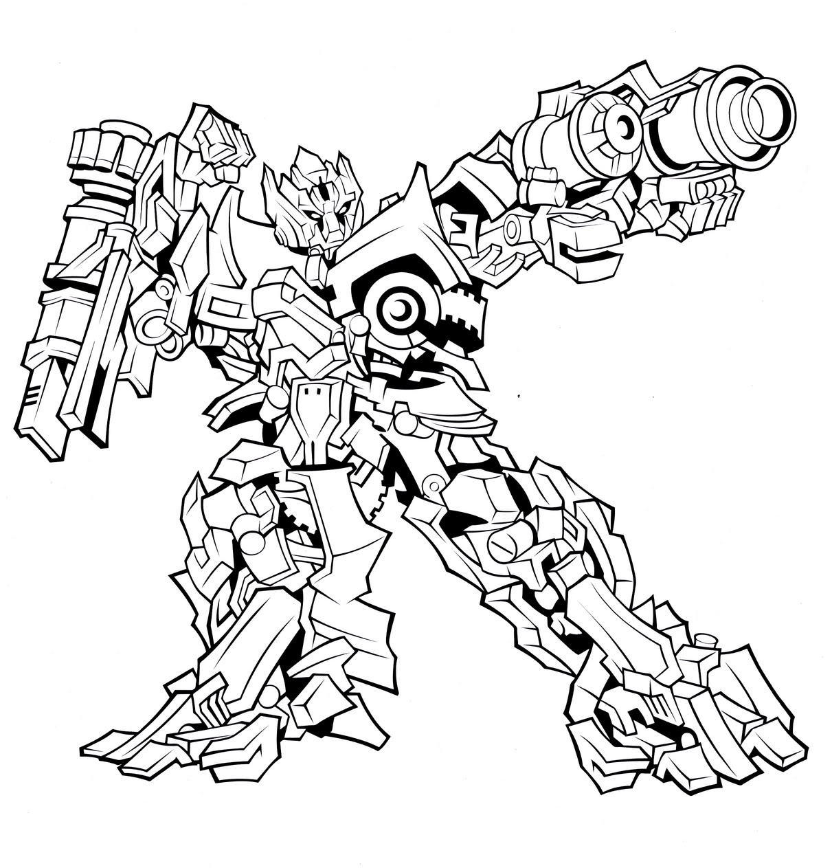 1211x1263 Free Printable Transformers Coloring Pages For Kids