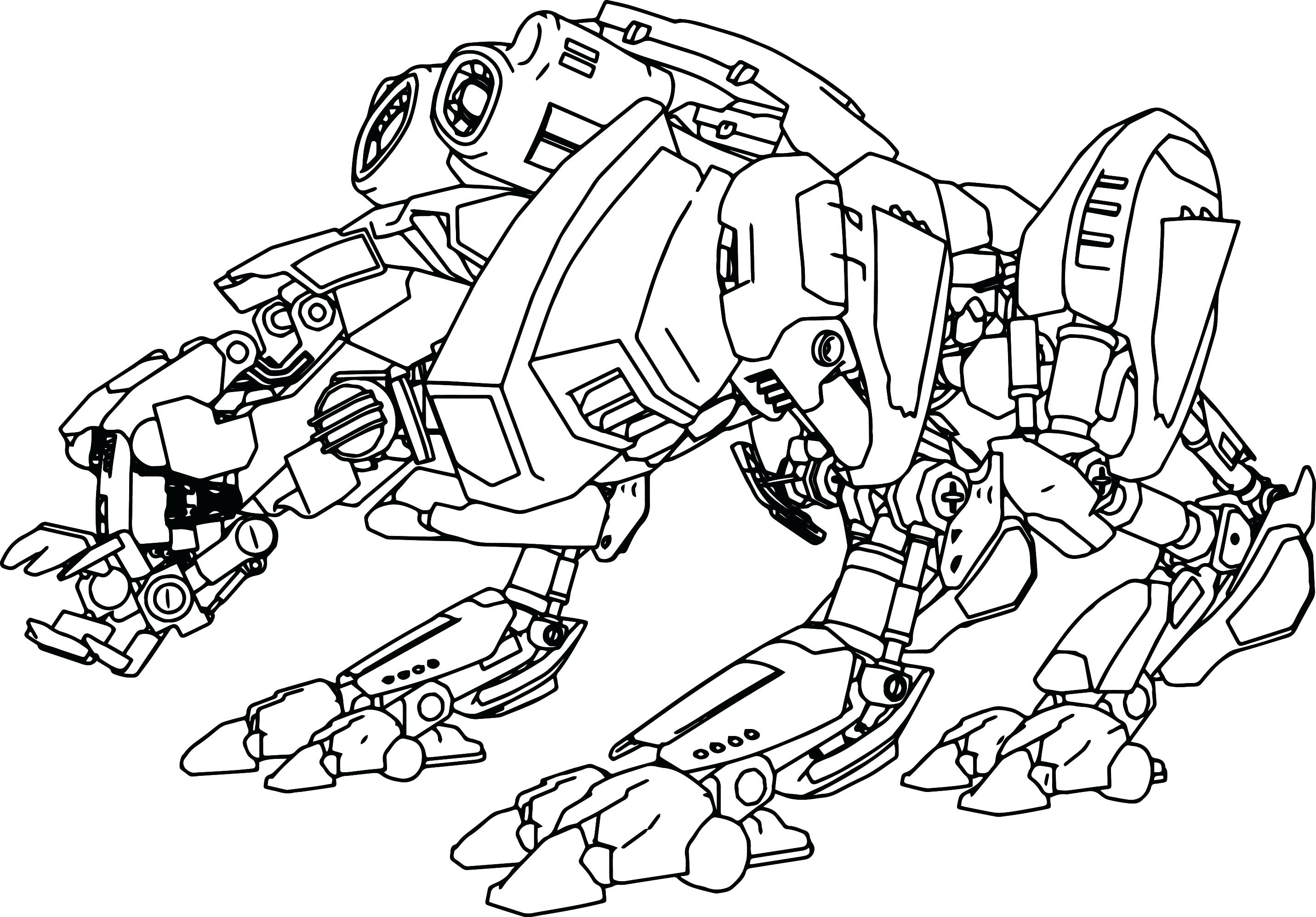 2863x1995 Girl Robot Coloring Pages Advanced Page Pdf To Print Cool Dragon