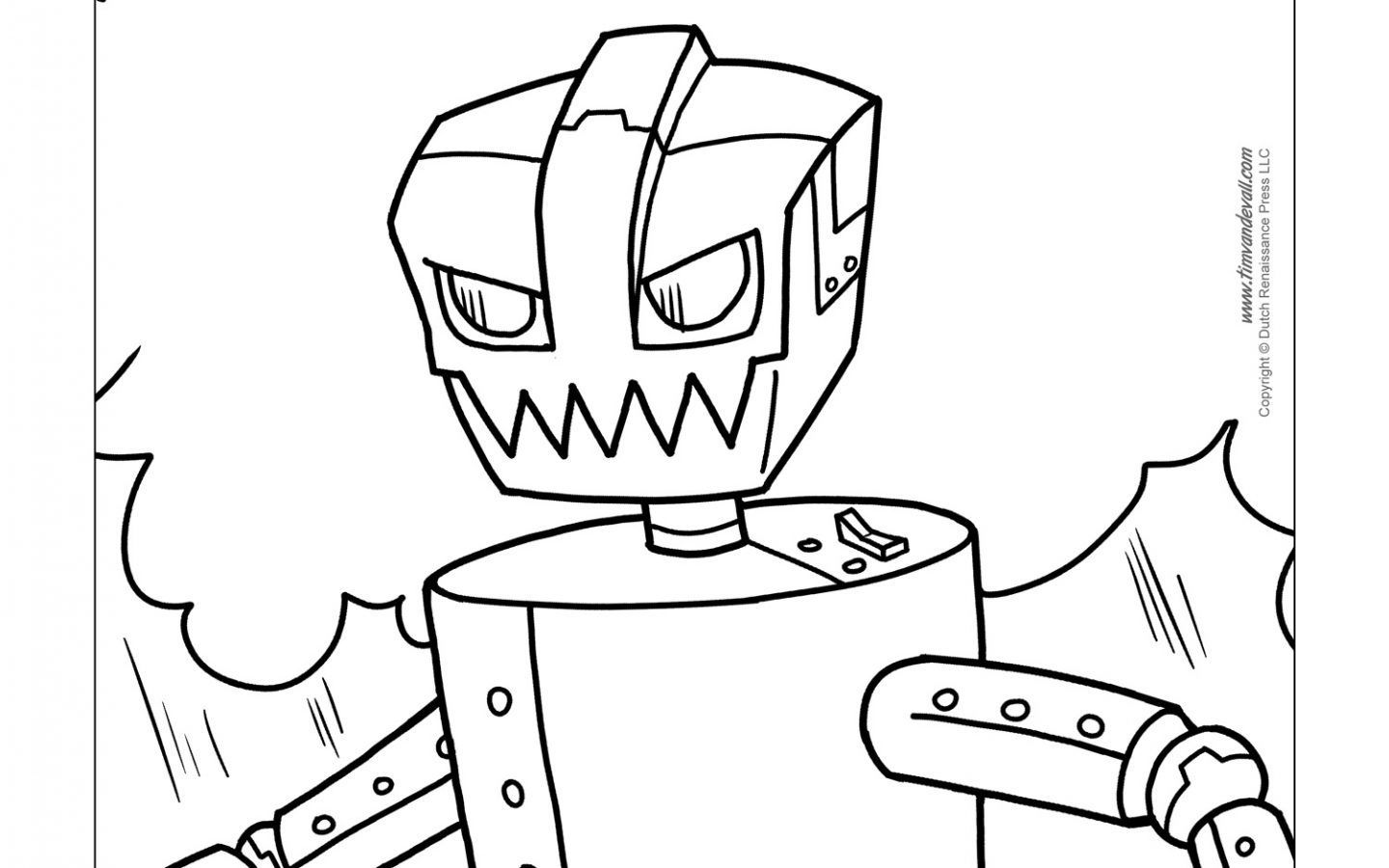 1440x900 Inspiring Robot Coloring Pages For Adult Best Image Printable Kids
