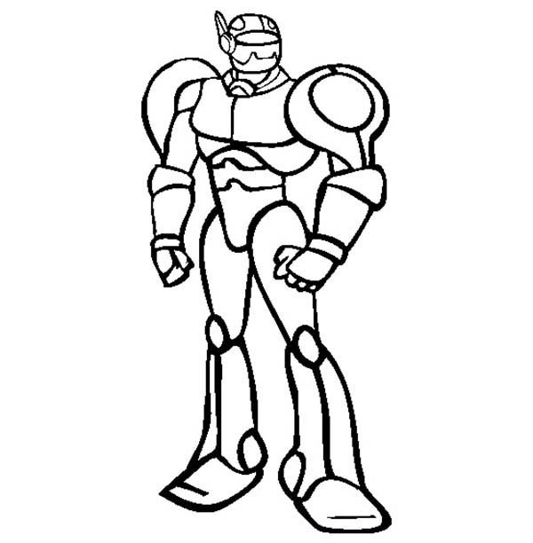 600x612 Mister Robot Coloring Pages Best Place To Color