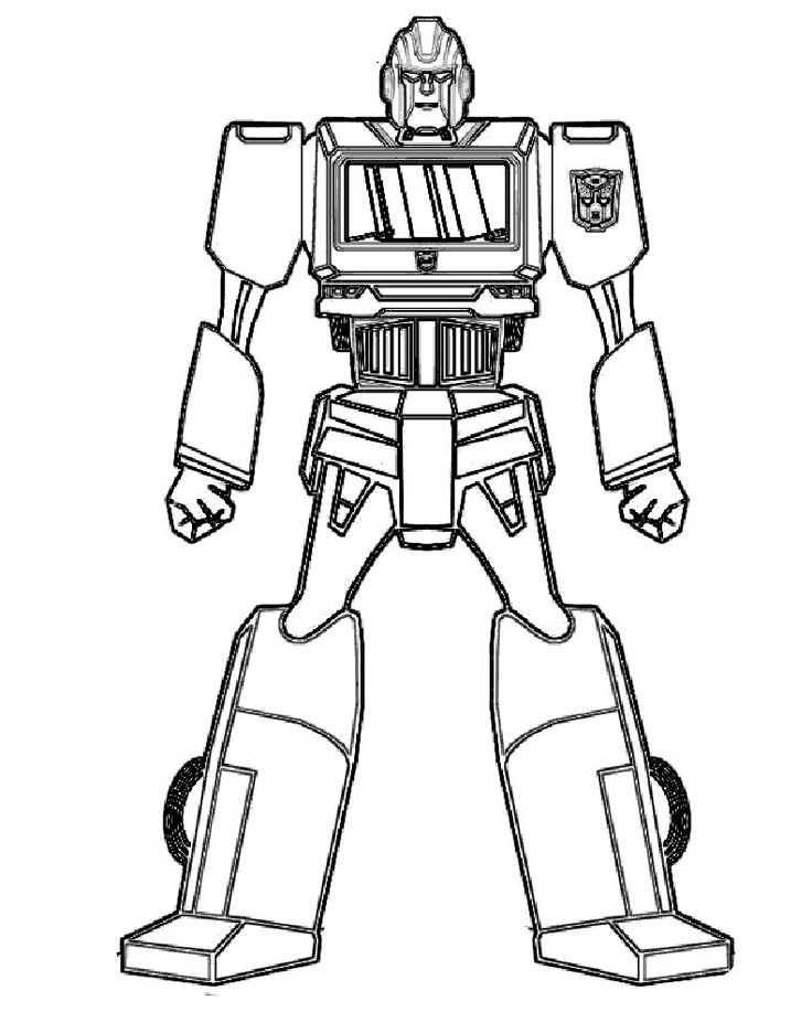 736x917 Best Robot Colouring Pages Images On Robot, Robots