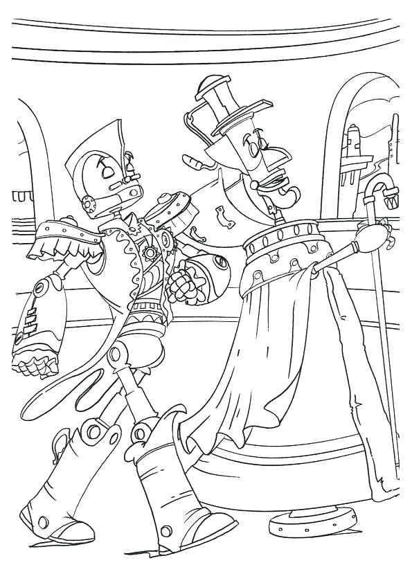 595x842 Terrific Outer Space Coloring Page Robot Coloring Pages Print