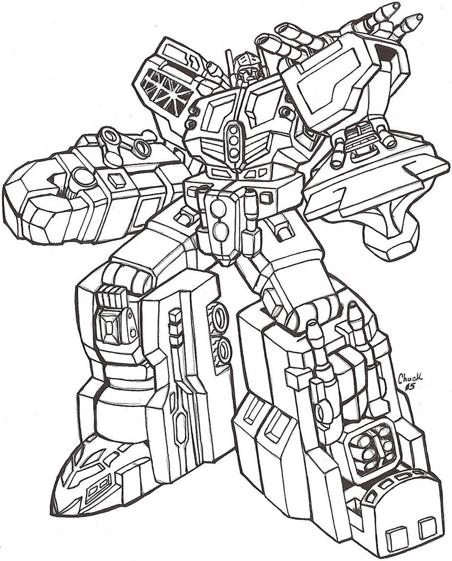 914x1133 Transformers Omega Supreme Coloring Pages