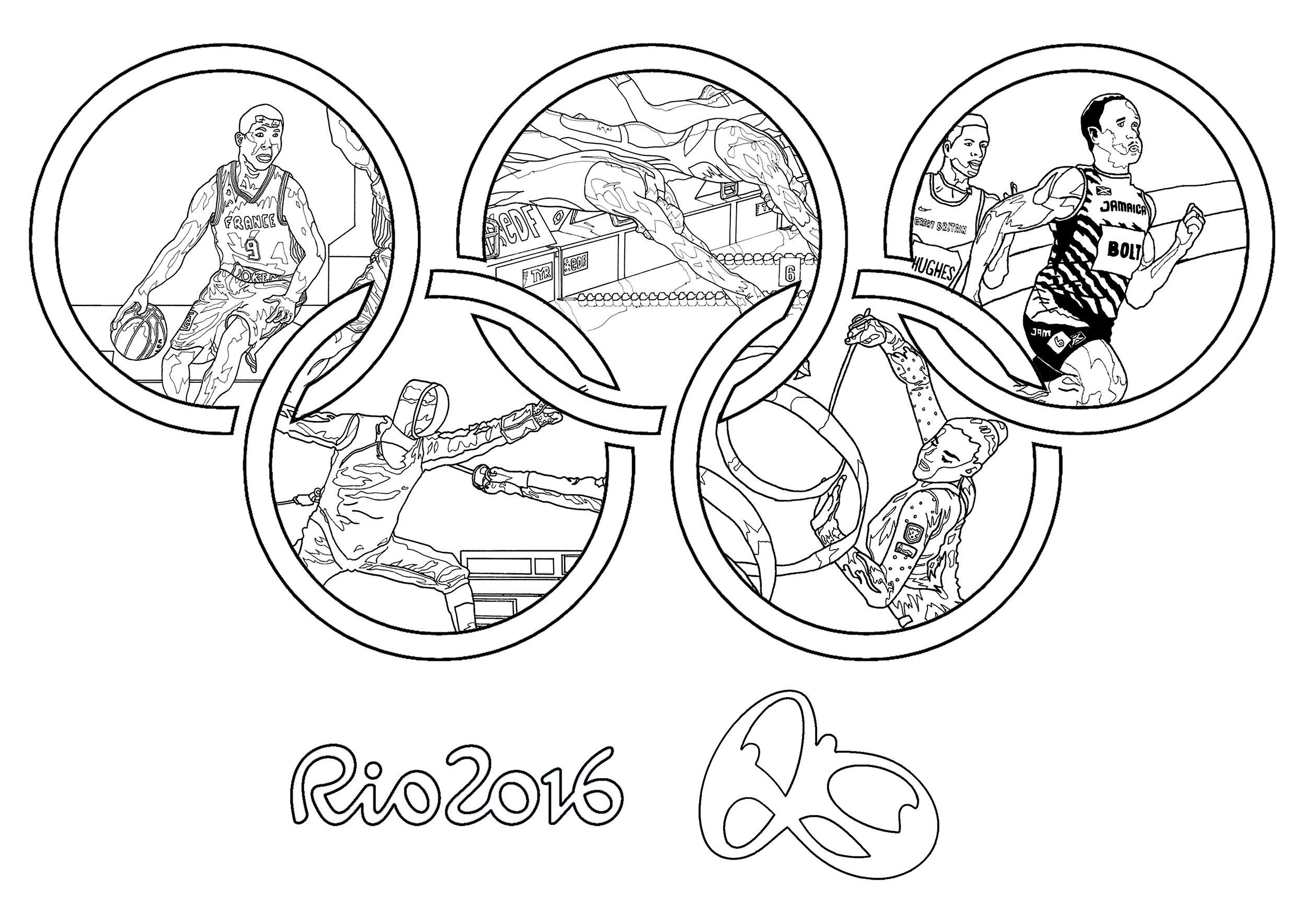 Cool Sports Coloring Pages at GetDrawings.com   Free for ...