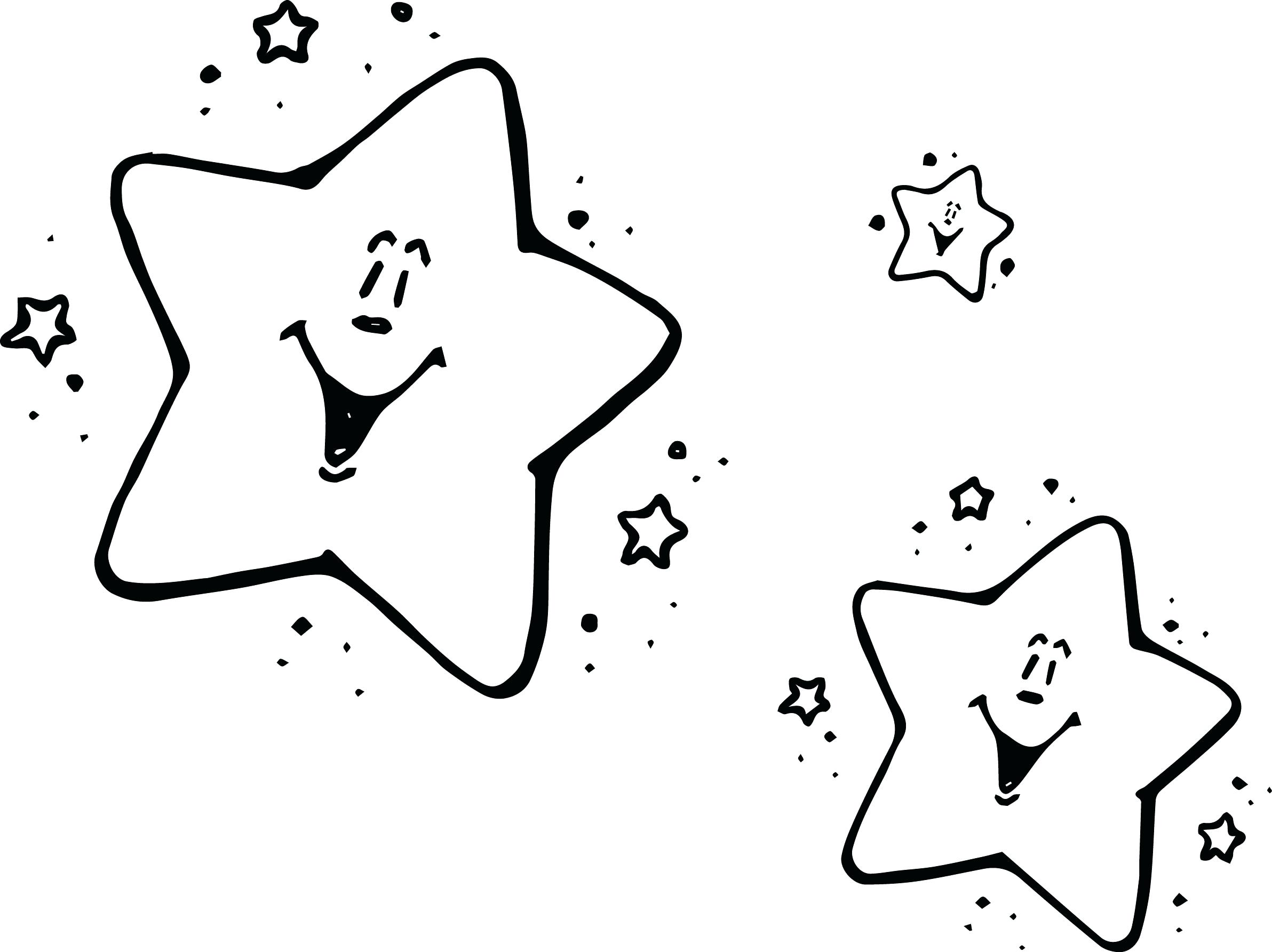 2384x1785 Inspiration Star Coloring Pages With Coloring Page Cool Stars