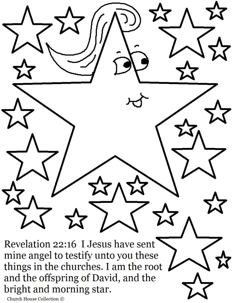 791x1024 Jesus Is The Bright And Morning Star Coloring Page Jesus Star