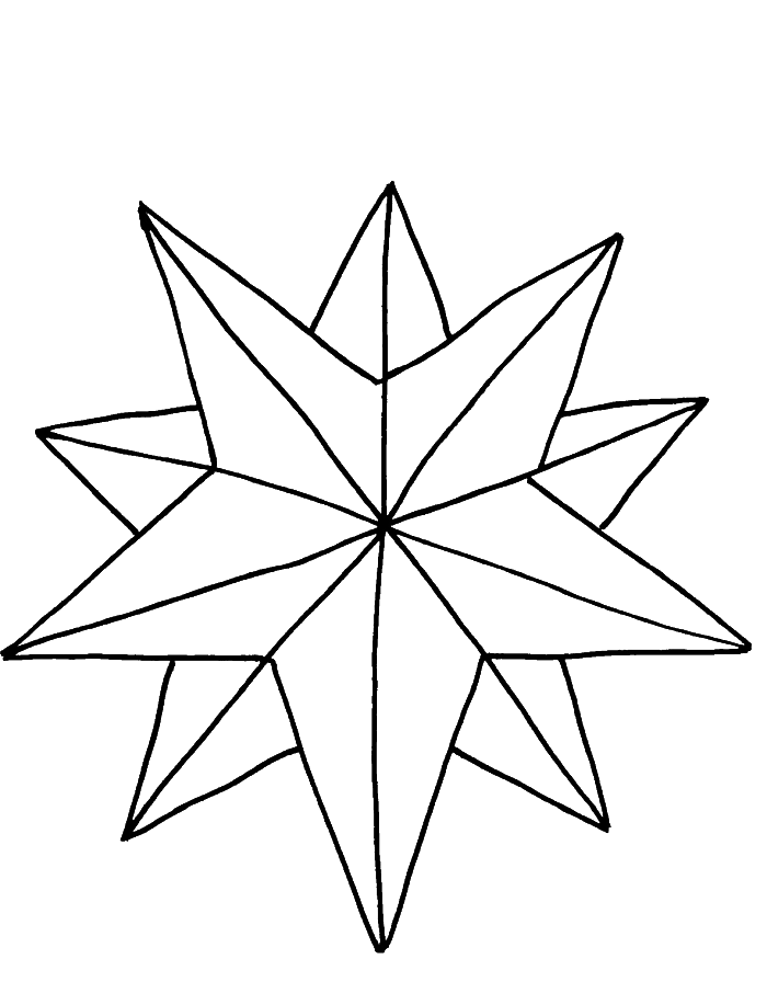 700x917 Star Coloring Pages The Sun Flower Pages