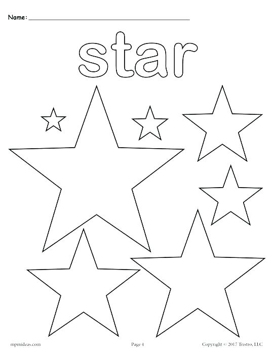 Cool Star Coloring Pages At Getdrawings Com Free For Personal Use