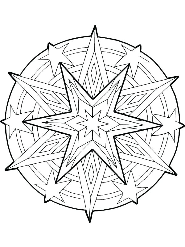 600x800 Christmas Star Coloring Pages Coloring Pages Star Coloring Book