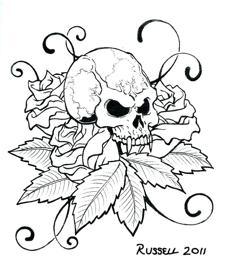 736x866 Tattoo Coloring Pages Printable