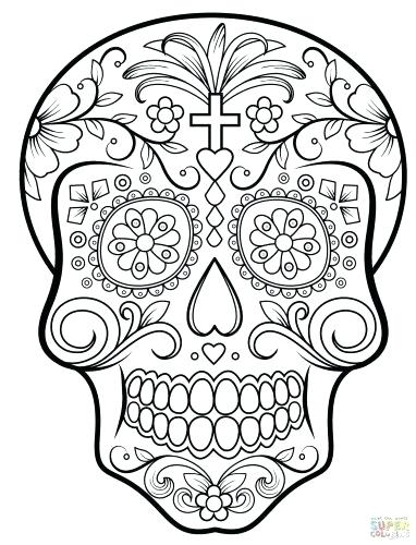 382x500 Tattoo Coloring Pages