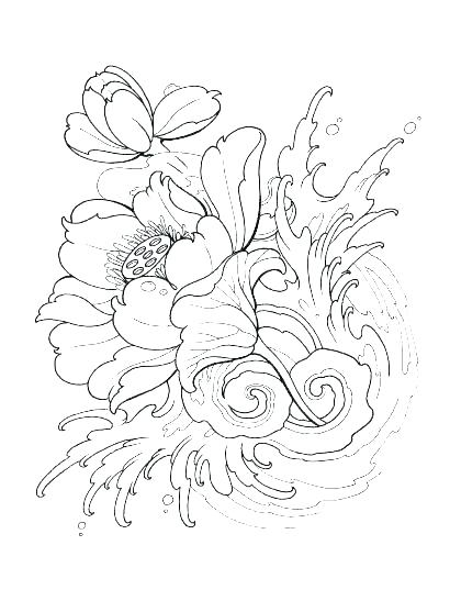 410x547 Tattoo Coloring Pages