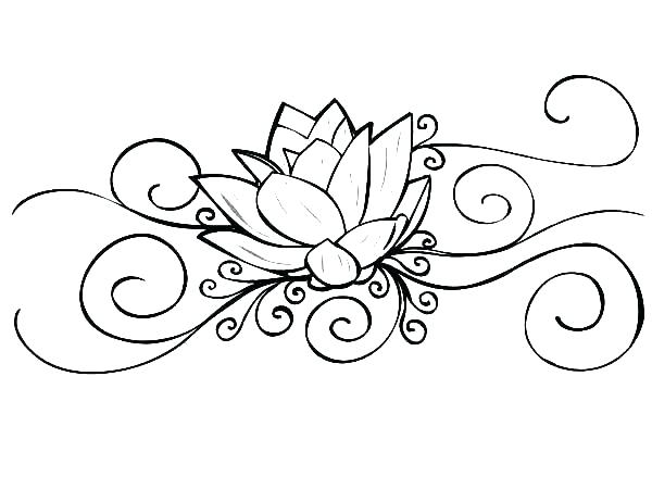 600x450 Beautiful Tattoo Coloring Pages Printable And Free Tattoo Coloring