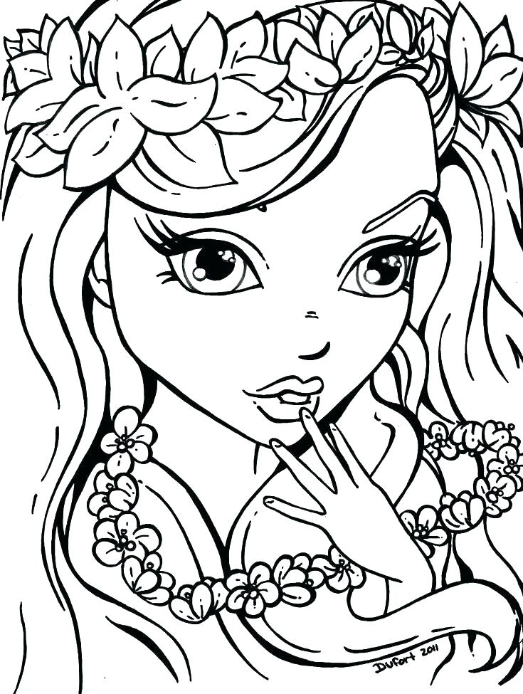 735x975 Coloring Pages For Teen Girls Detailed Coloring Pages For Teenage