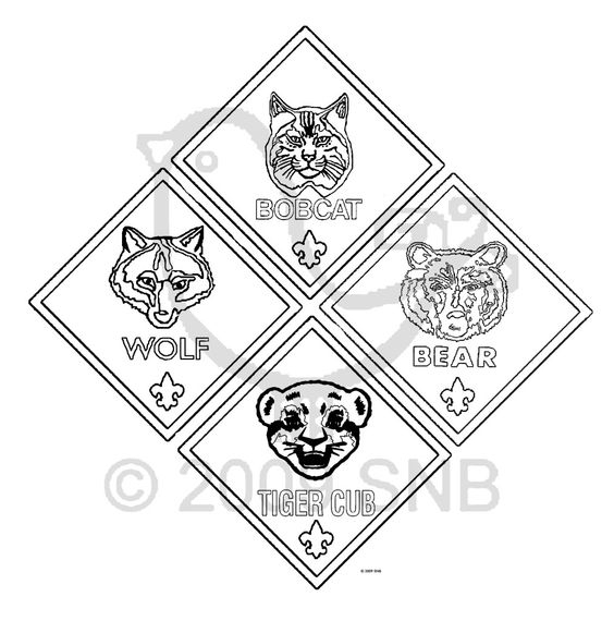 image relating to Cub Scout Printable identified as Cooperation Coloring Web page at  Absolutely free for