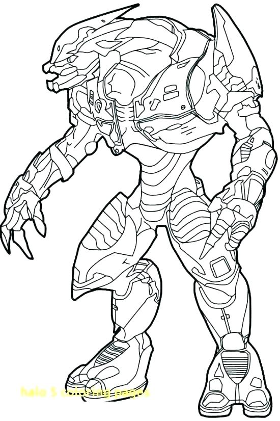 550x826 Halo Master Chief Coloring Pages Halo Master Chief Coloring Pages