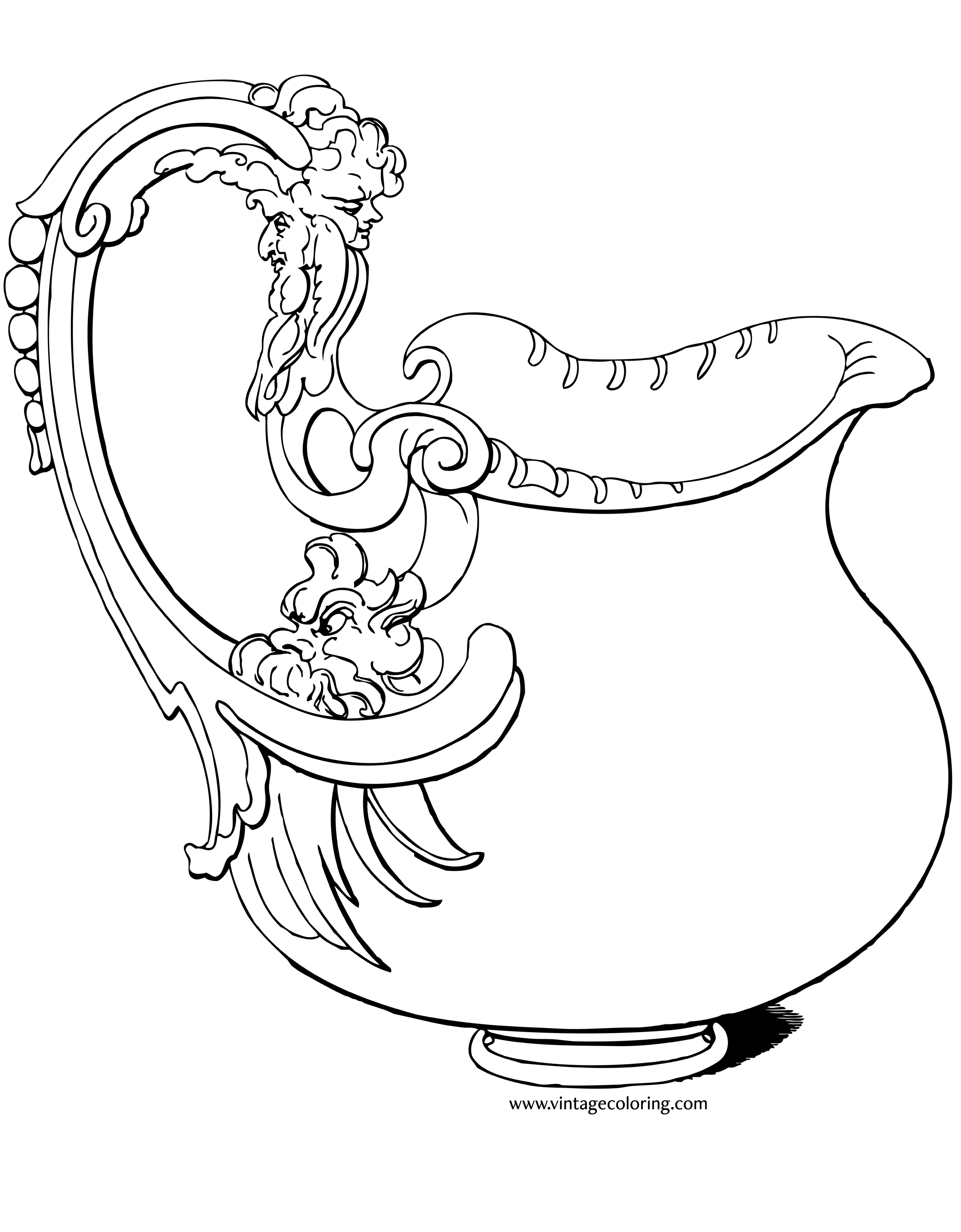 2130x2730 Silver Pitcher Drawing