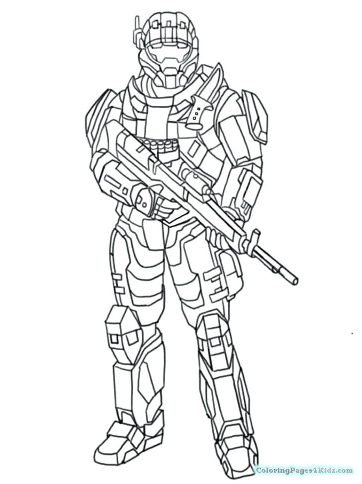 728x971 Halo Coloring Pages