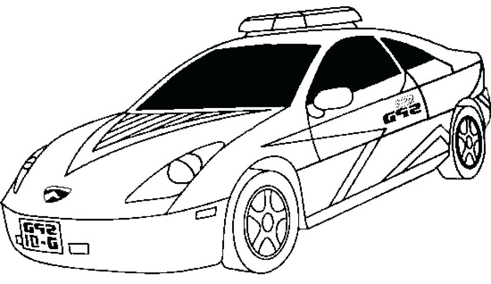 960x555 Police Car Coloring Pages Police Car Coloring Pages Police Car