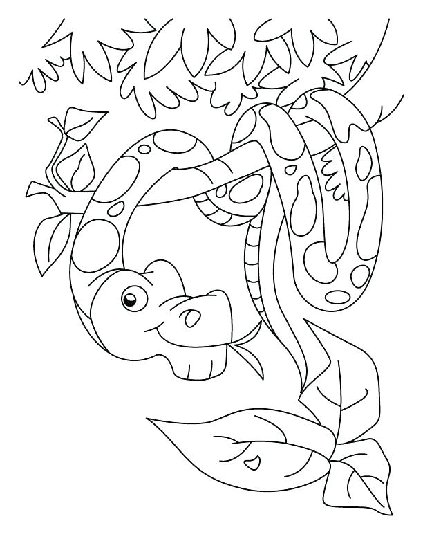 612x792 Mesmerizing Coral Coloring Page Coloring Pages Snakes New Year
