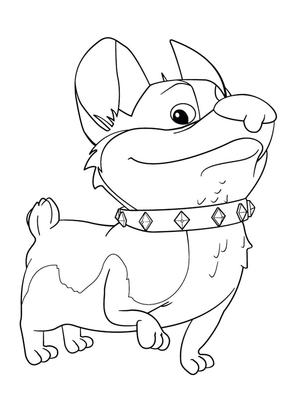 600x834 Corgi Coloring Pages Download And Print For Free Coloring Gallery