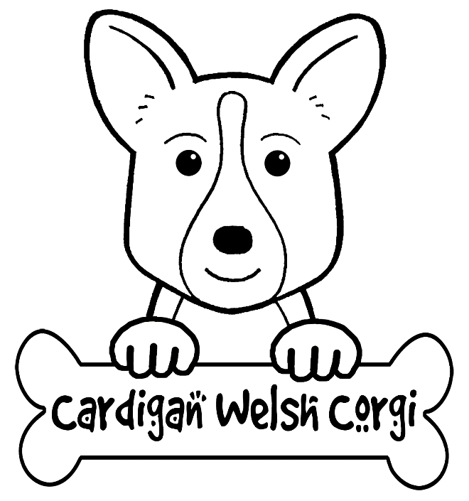 660x705 Corgi Coloring Pages Images Free Coloring Pages