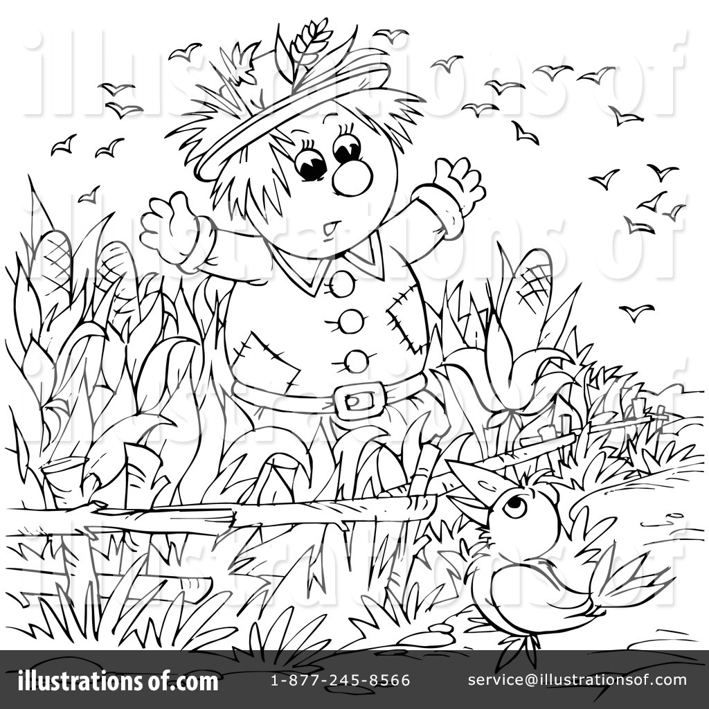 Corn Field Coloring Page At Getdrawings Com Free For Personal Use