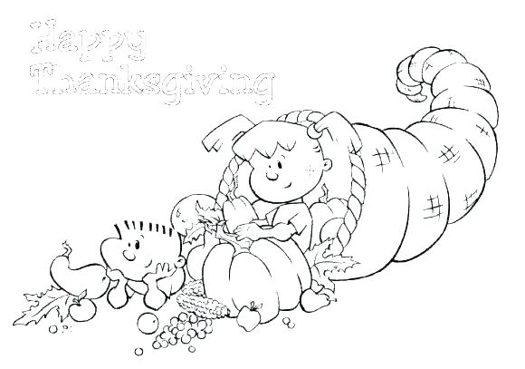 Cornucopia Fruit Coloring Pages At Getdrawings Com Free For