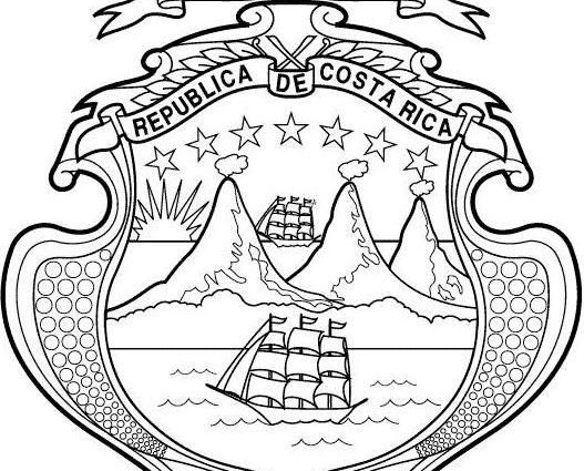 Costa Rica Coloring Pages At Getdrawings Com Free For Personal Use