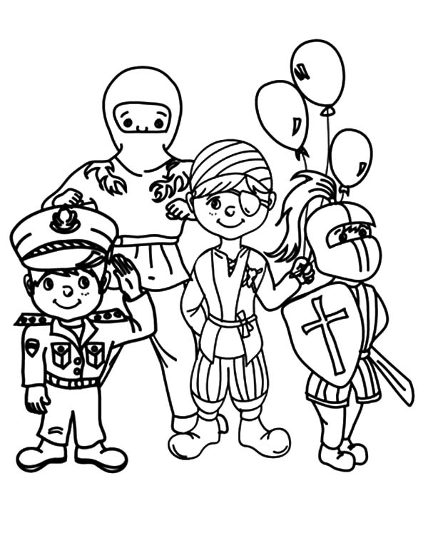 600x775 Costume Coloring Pages Carnival Costume Show Coloring Pages