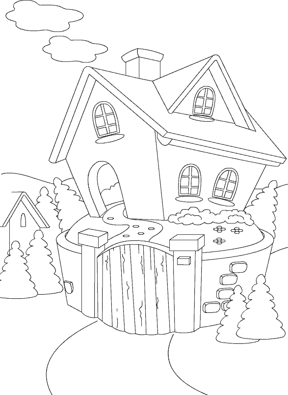 587x804 Coloring Pages