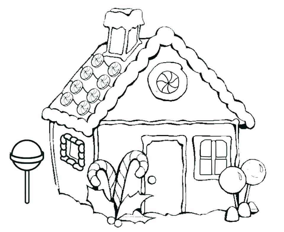960x784 Coloring Pages Houses