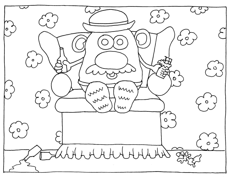 1500x1156 Mr Potato Head Couch Potato