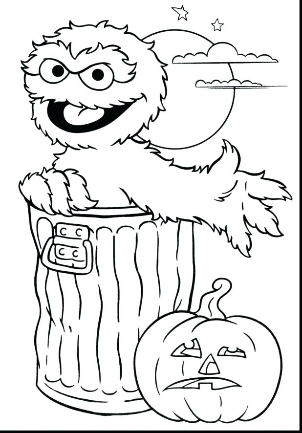 618x886 Cute Halloween Coloring Pages Printable Magnificent Printable