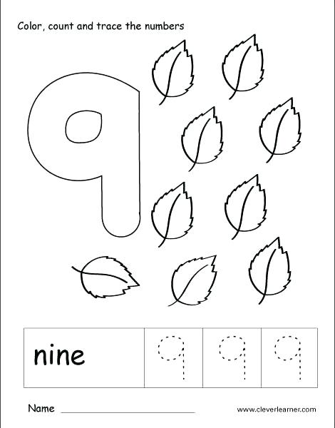 Counting Coloring Pages At Getdrawings Com Free For