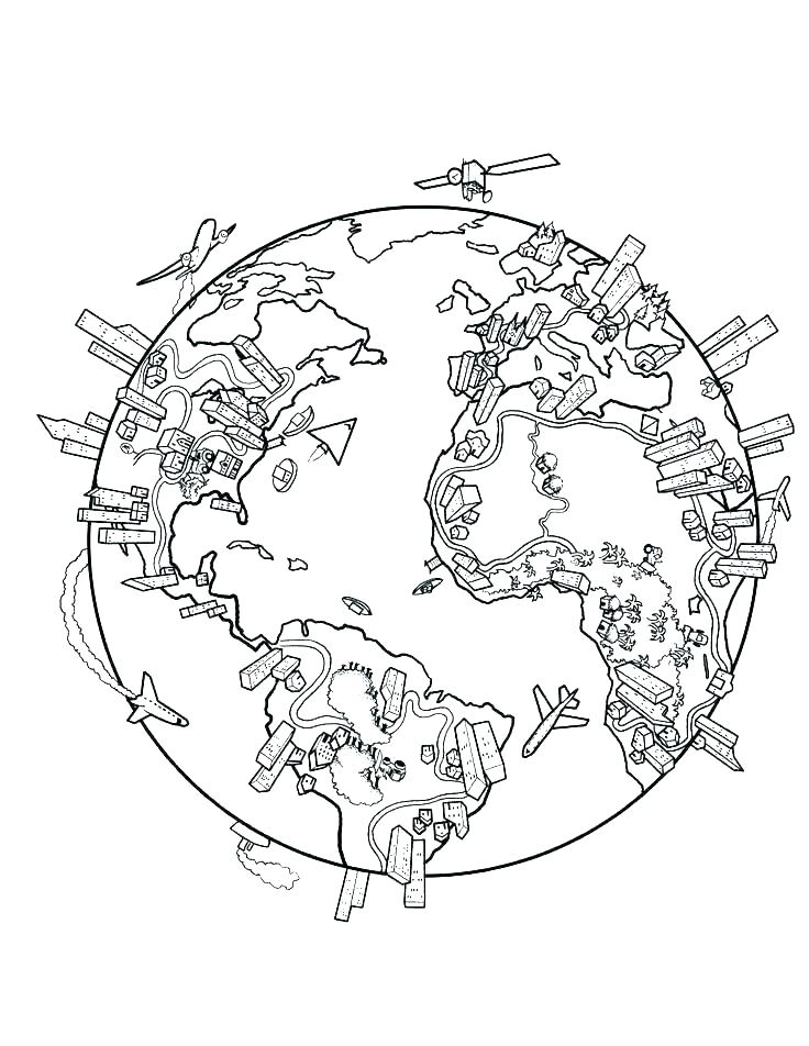 736x952 Coloring Page Map Of The World Coloring Page World Map World Map