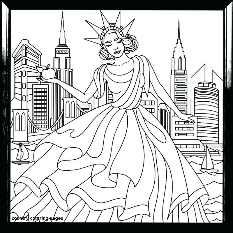 800x800 Country Coloring Pages Recolor Coloring Book For Country Coloring